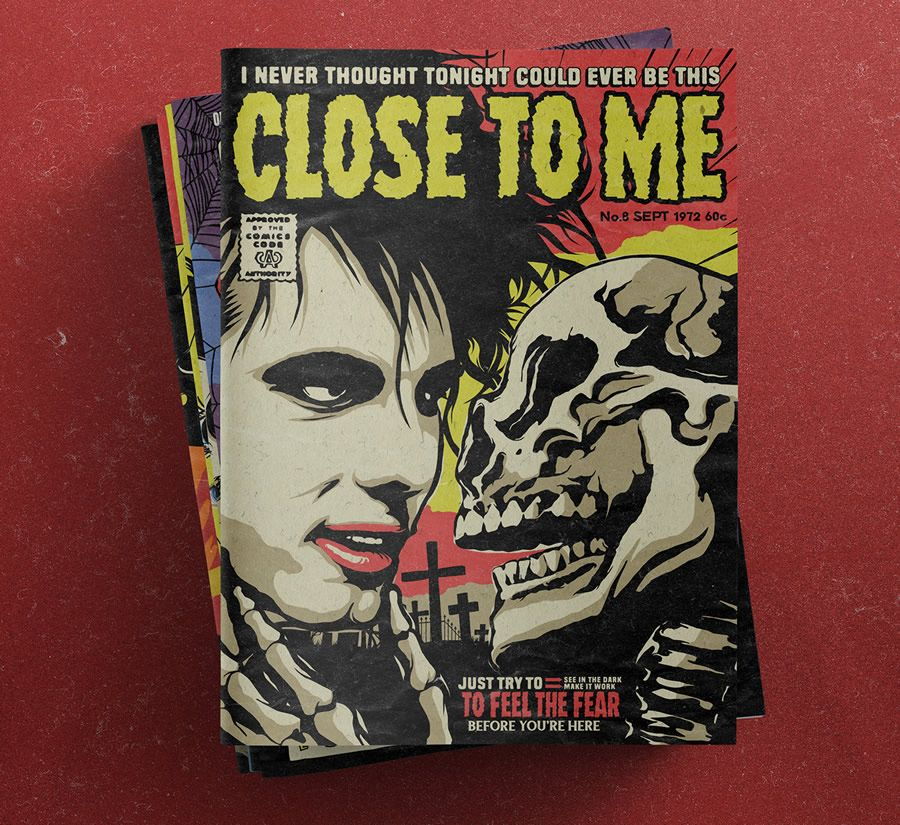 Tales From The Smith Pulp Comic Book The Cure Songs Retro Horror Robert Smith