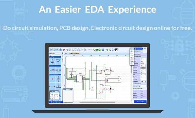 Here is an online PCB design and Simulation Tool for Free