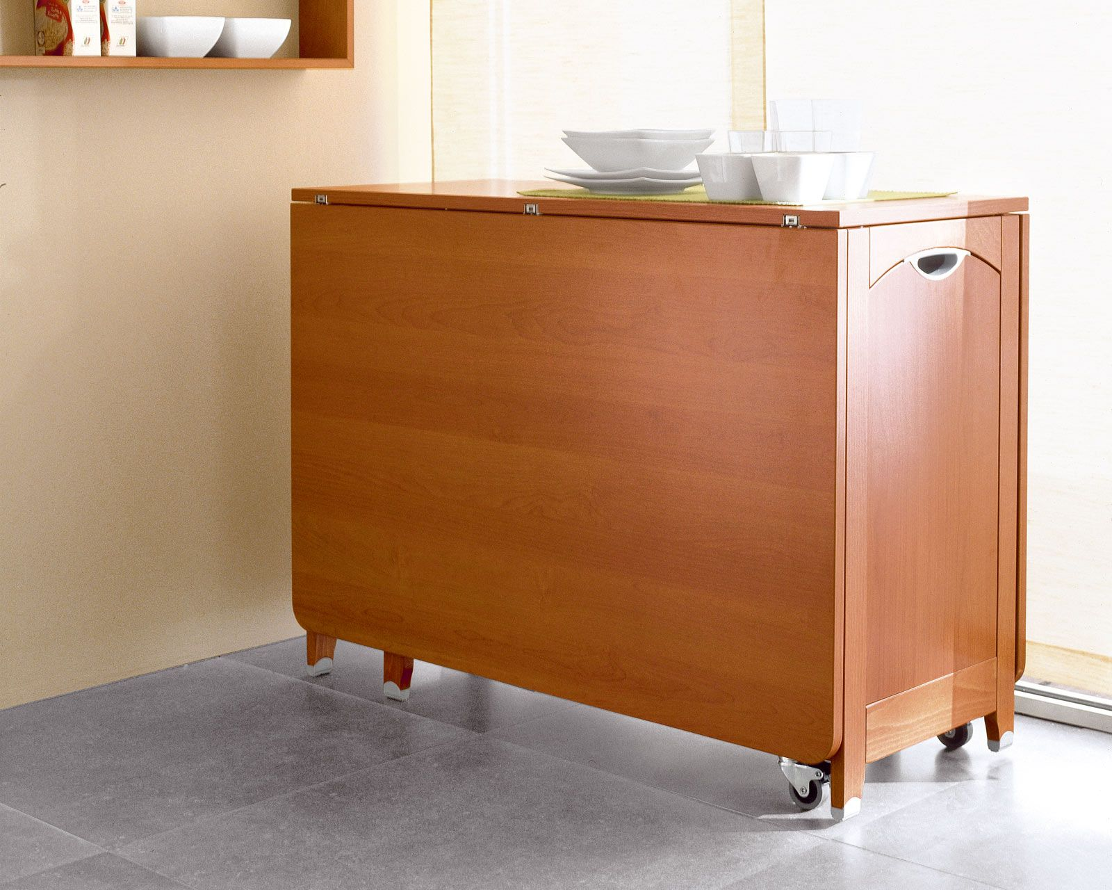 Adorable Drop Leaf Table With Chair Storage Modern Kitchen