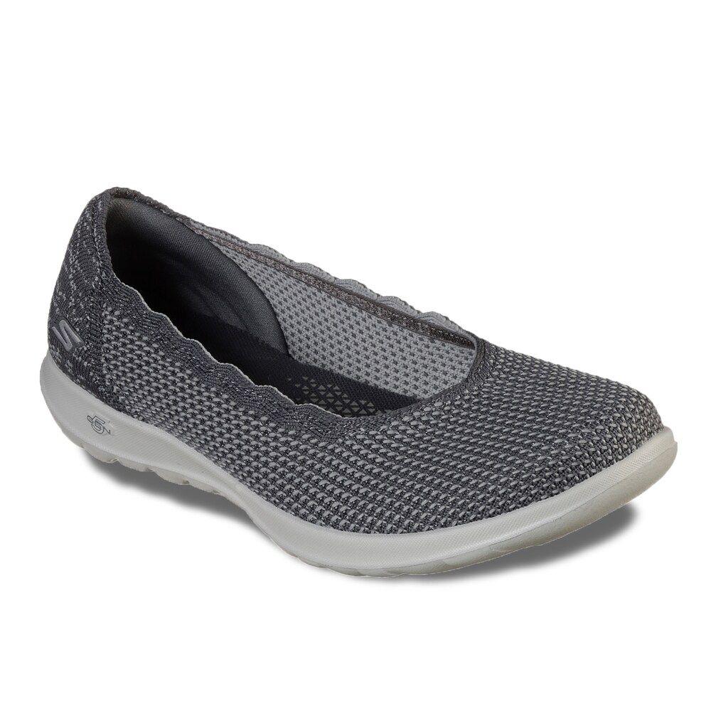 Skechers Gowalk Lite Diamond Women S Shoes Size 8 5 Grey