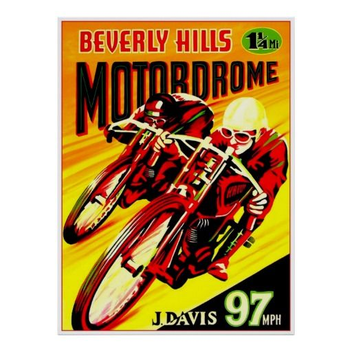 Vintage Motorcycle Posters Google Search Bike Poster