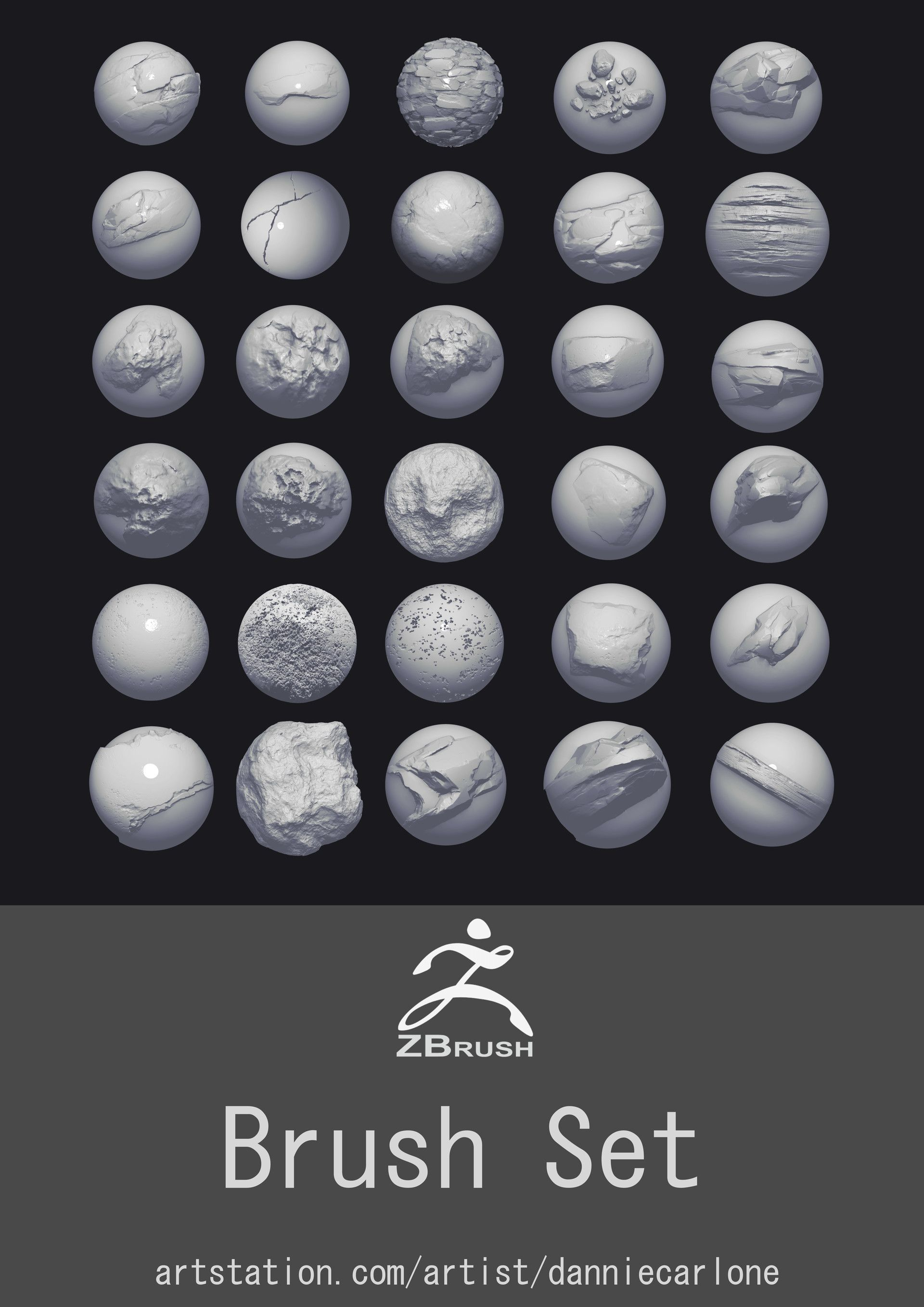Pin by Algaari Studio on Zbrush Brushes and alphas in 2019 | Zbrush