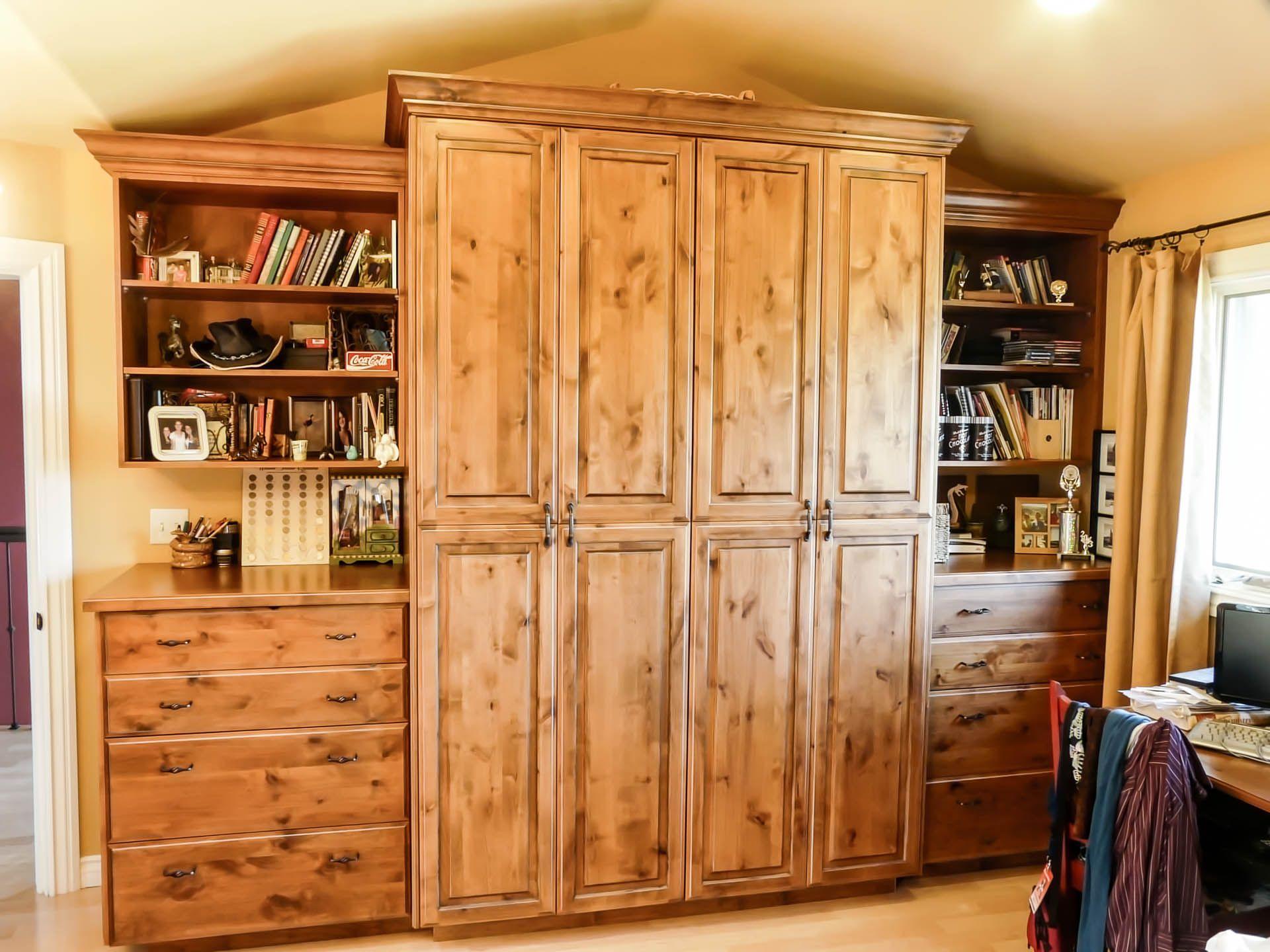 Bedroom Custom Wardrobe Cabinets. Project Design U0026 Remodeling By Danilo  Nesovic, Designer · Builder