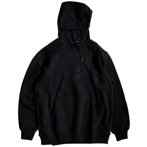 #Jordan Big Jumpman Hoodie - Black  72,00 €