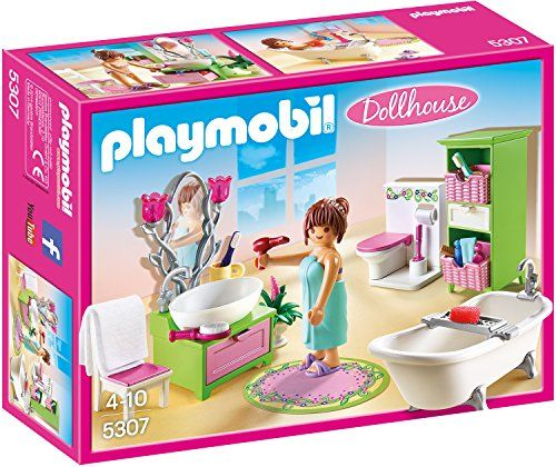 Romantik Bad   5307 Playmobile World Pinterest Romantik Und   Playmobil  Badezimmer 4285