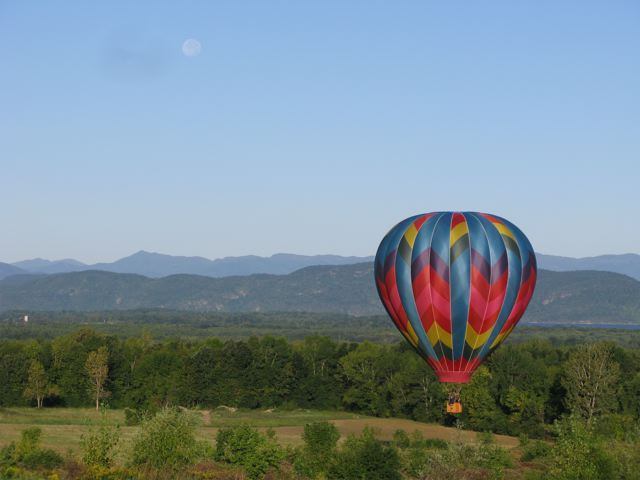Enjoy fall color at high altitude with Berkshire Balloons