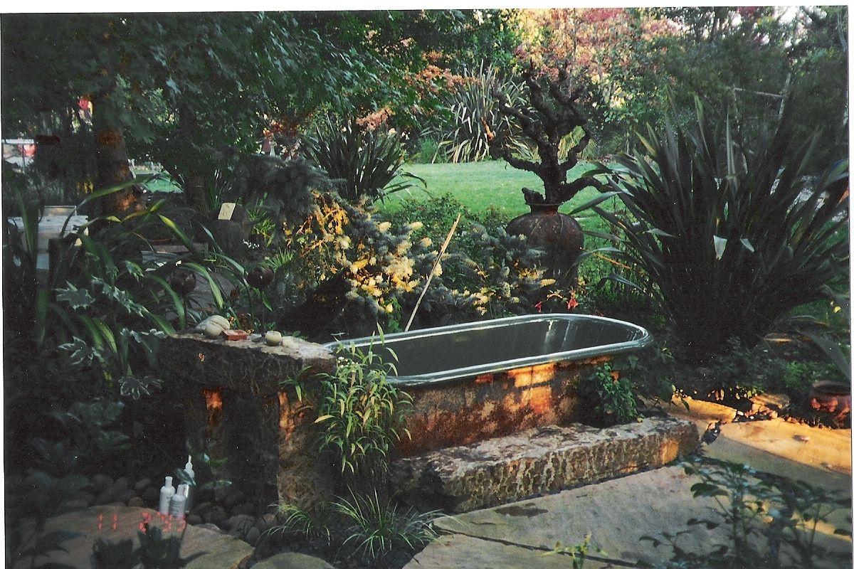 Old Bath Tubs Garden Outdoor Bathtub