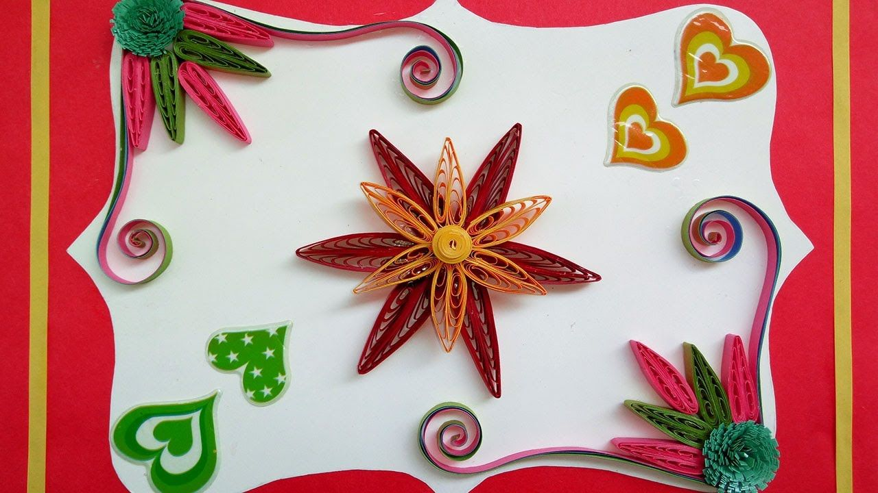 Quilling How To Make Cascading Loops Flower Using A Quilling Comb
