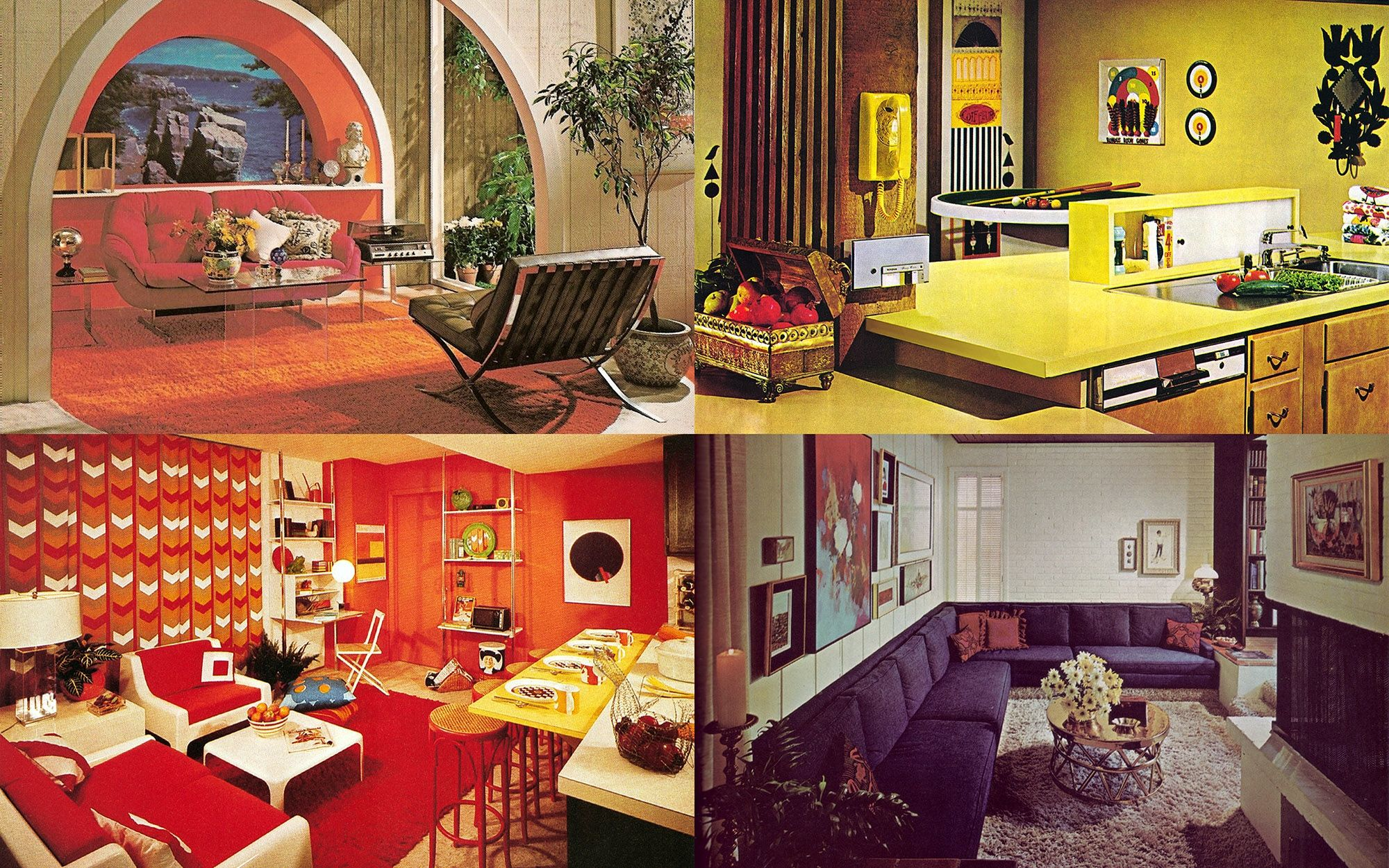 Interior Five Common 1970s Decor Elements Ultra Swank with ...