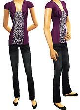 Mod The Sims - PATTERN FRENZY! Four outfits for Teen Girls