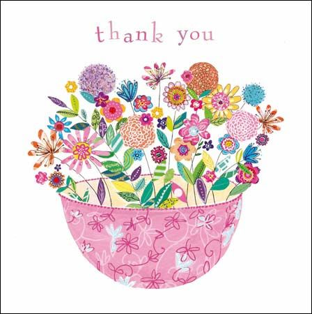 Bowl of Loveliness - #thankyou card by @Kim Anderson