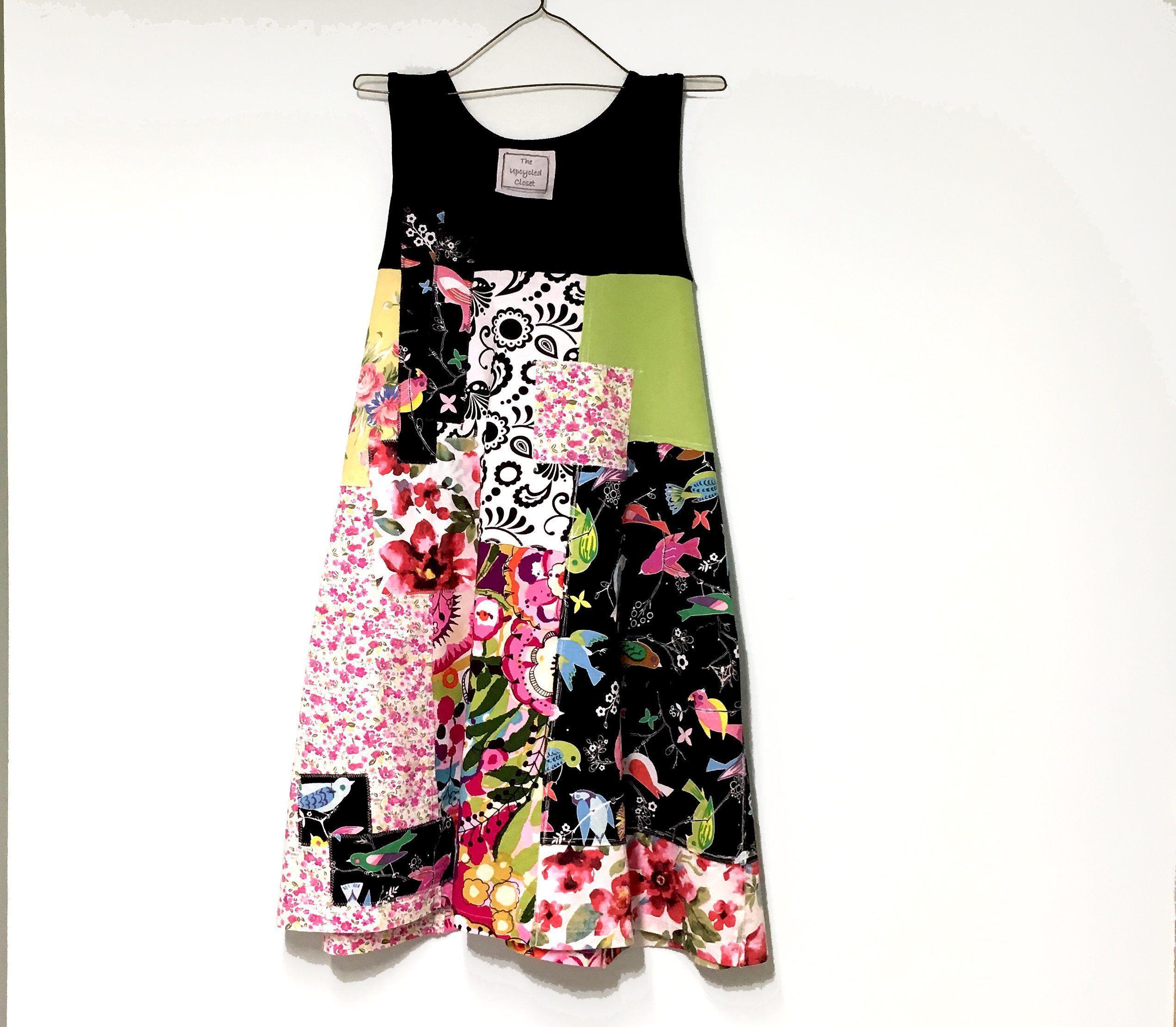 11b8c3ecb4706 Boho Dress for Women, Artsy Tunic, Summer Cotton Dress, Shabby Chic ...