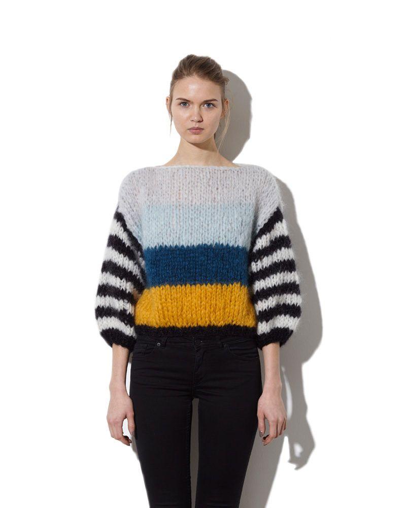 Mohair Big Sweater | Crochet & knit | Pinterest | Patrones de suéter ...