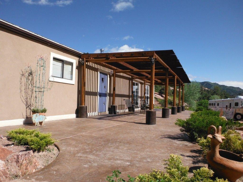 Colorado springs cabin rental private southwestern style
