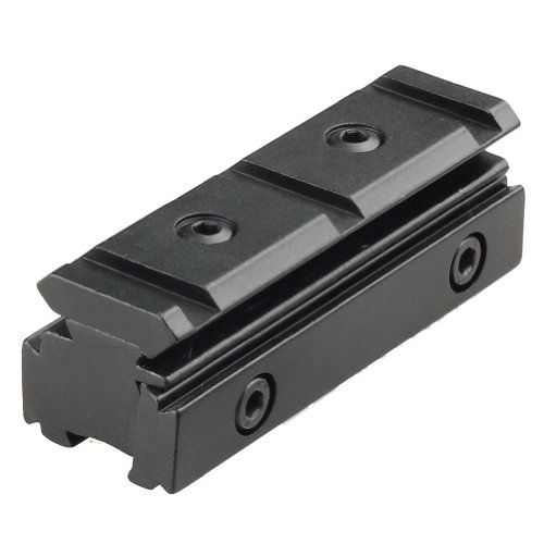 """Tactical High Profile 1/"""" 25.4mm Ring Scope Mount Adapter Fits 11mm Rail"""