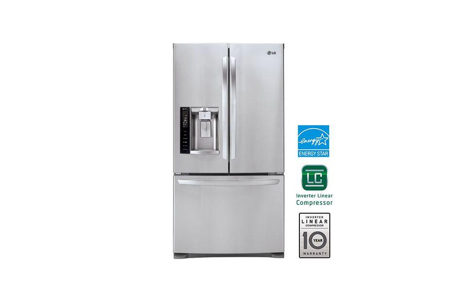 27 Cu Ft French Door Refrigerator French Door Refrigerator Lg