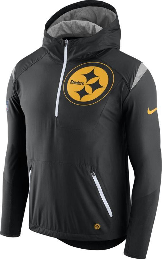 a564fe32494b6 Nike Lightweight Fly Rush (NFL Steelers) Men s Jacket