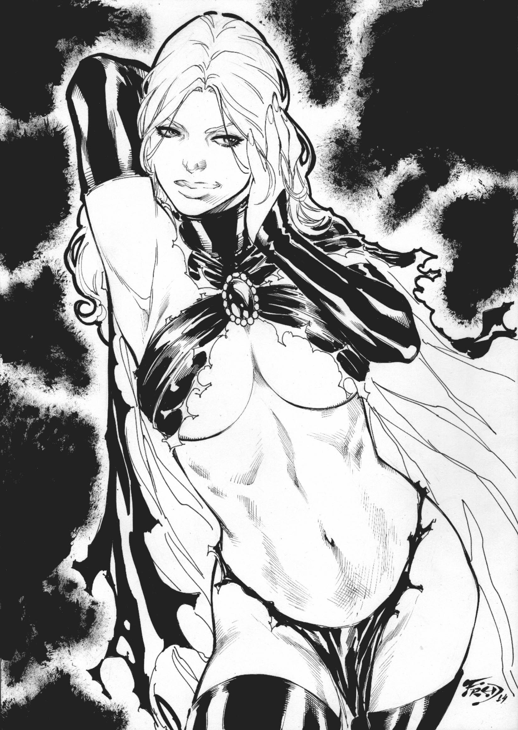 Goblin Queen by Fred Benes