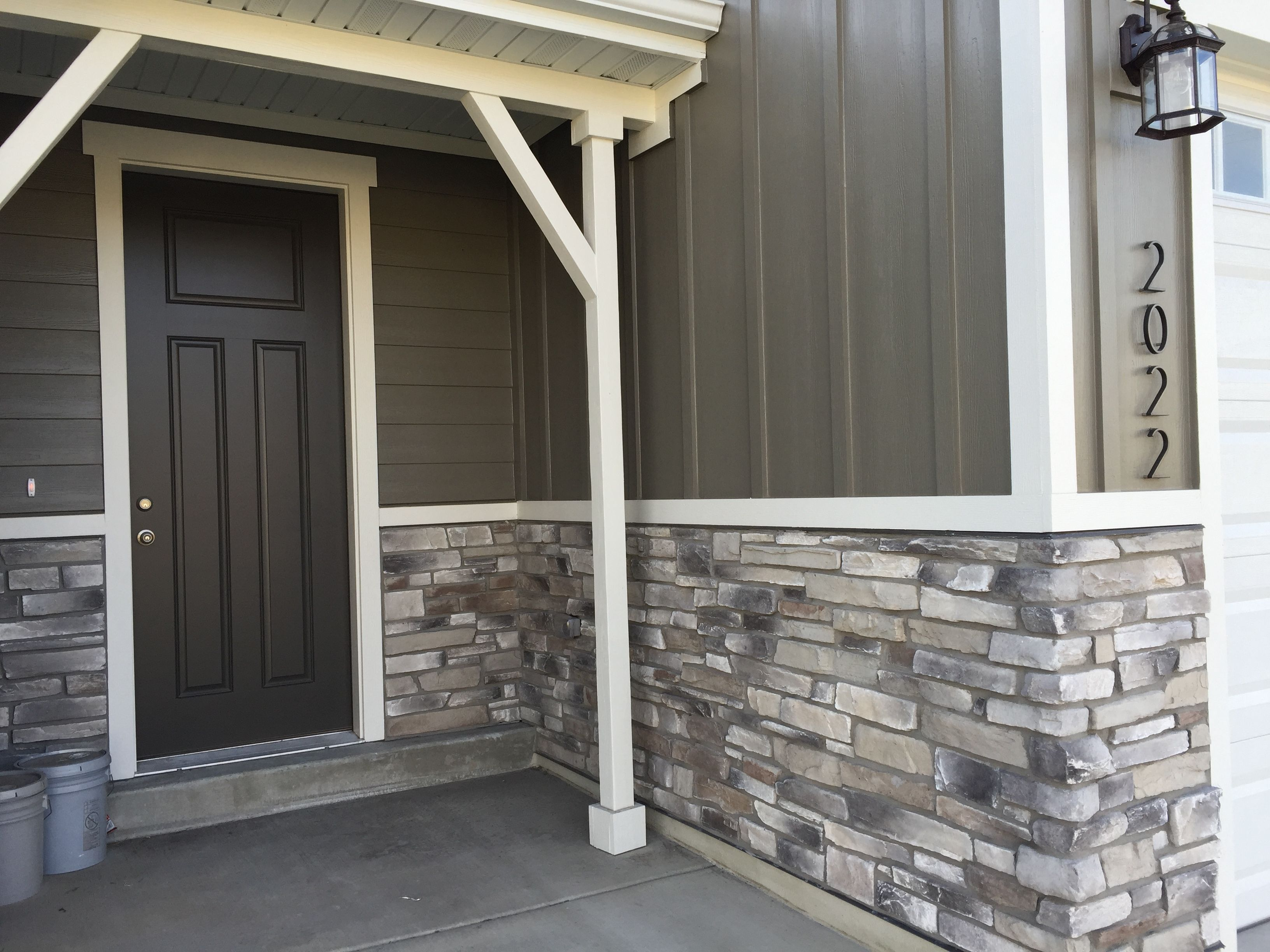 Uintah Ledgestone Slate Exterior House Colors House