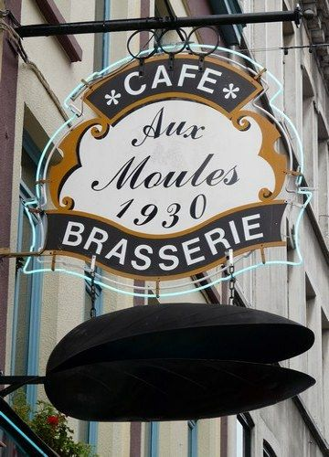 A must go in Lille - I love moules-frites!