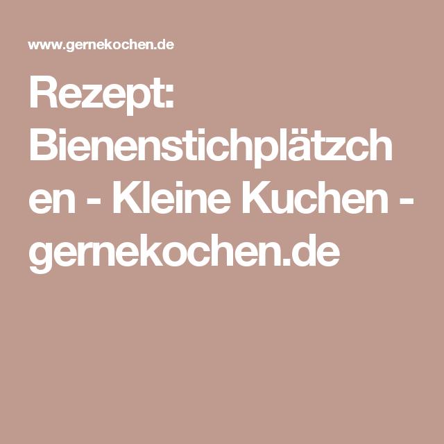 Rezept: Bienenstichplätzchen - Kleine Kuchen - gernekochen.de