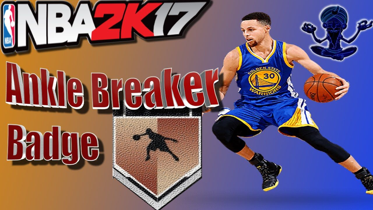 NBA 2K17 Tutorial #5 - How to get the Ankle Breaker Badge