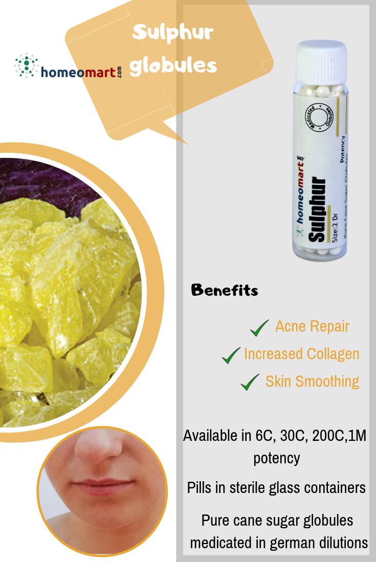 Sulphur 2 Dram Pills 6C, 30C, 200C, 1M, 10M   Buy Medicines