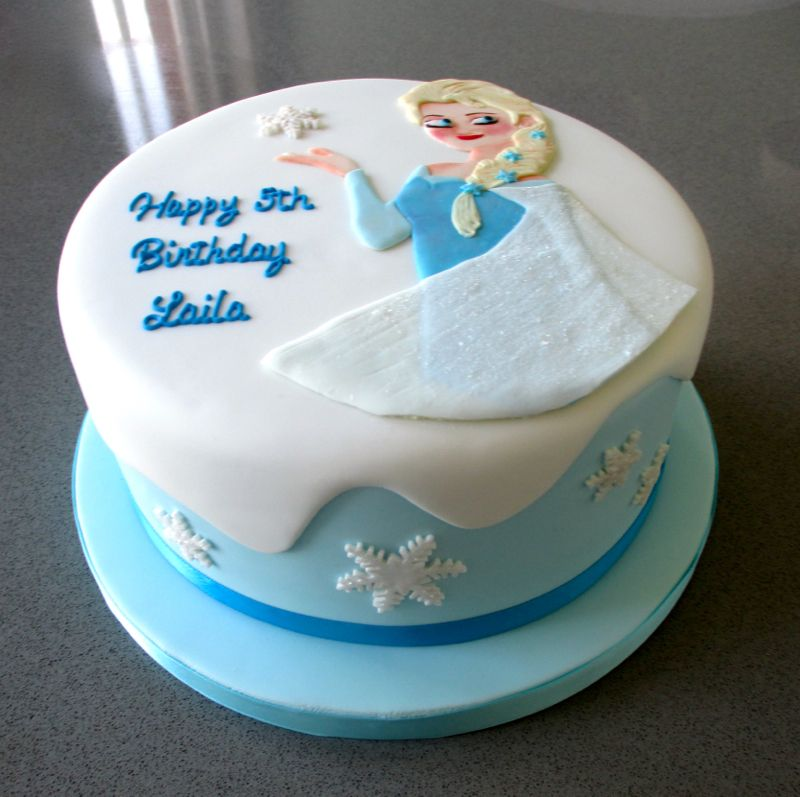 happy birthday elsa cake Birthday cakes Pinterest Elsa