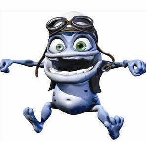 Picture of Crazy Frog Frog, Frog pictures, Funny babies