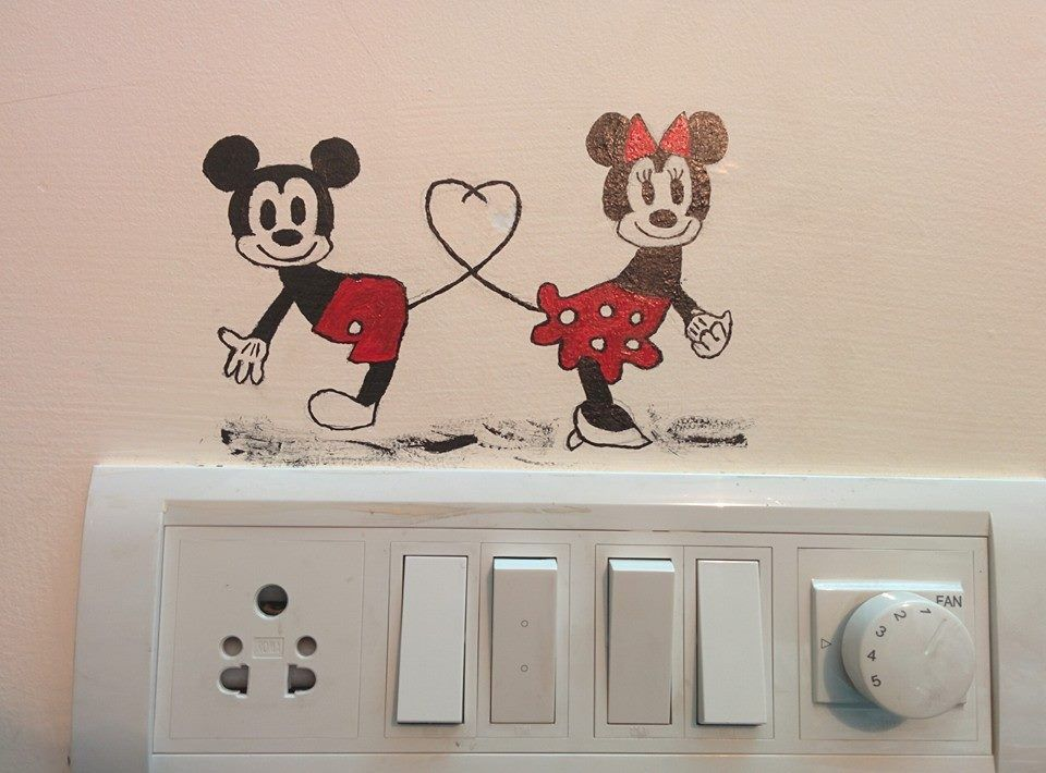 Electric Board Decoration With Images Wall Paint Designs Wall