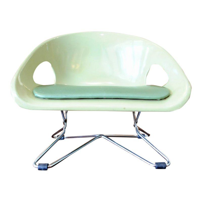 Mid Century Eames Style Cosco Child Booster Seat Chair Dinning Chairs Dining Chairs
