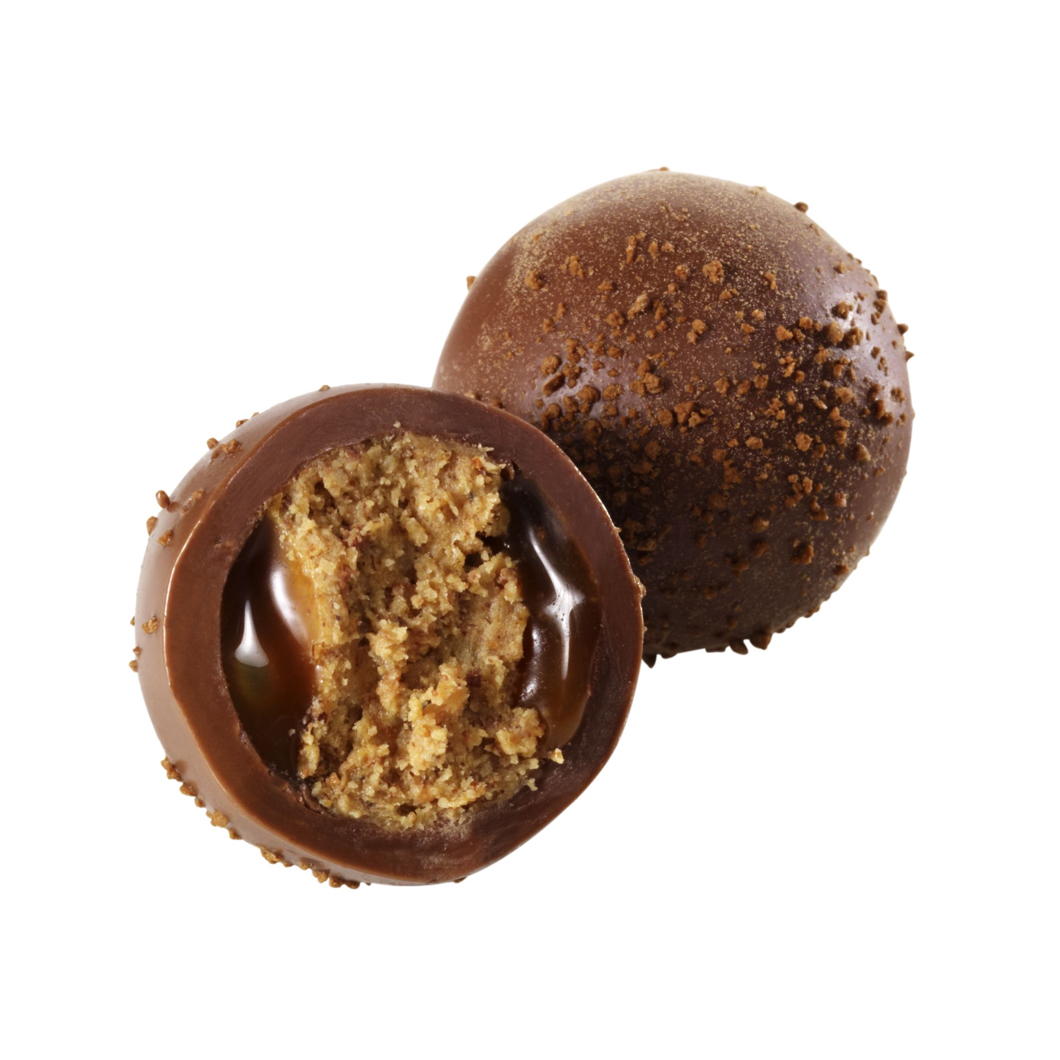 Butterscotch Walnut Brownie Truffle #GODIVA