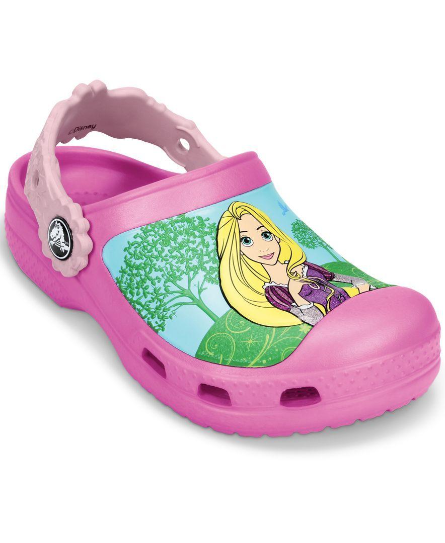 94175bb4280a Crocs Girls  Cc Magical Day Princess Clogs
