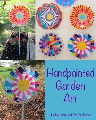 Garden Crafts Challenge Diy Garden Crafts Ideas Red Ted Art Make Crafting With Kids Easy Fun Garden Crafts Diy Garden Crafts Garden Crafts For Kids