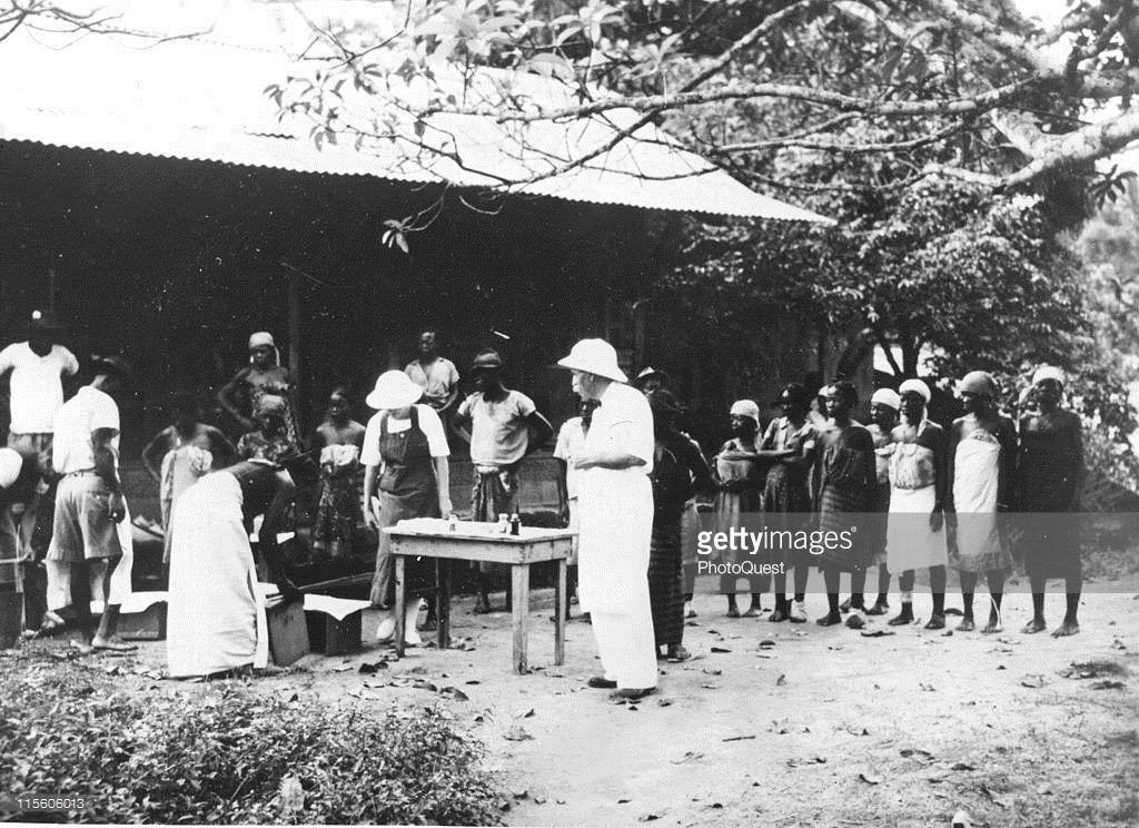 Dr. Albert Schweitzer in Africa. Albert schweitzer
