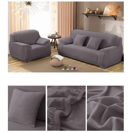 Sofa Covers Elastic Anti Wrinkle Couch Covers,Solid Color Stylish Loveseat  Sofa Cover Anti Mite Pet Dog Cat Protector Cover Fit Many 35 90 Inch Sofas  ...