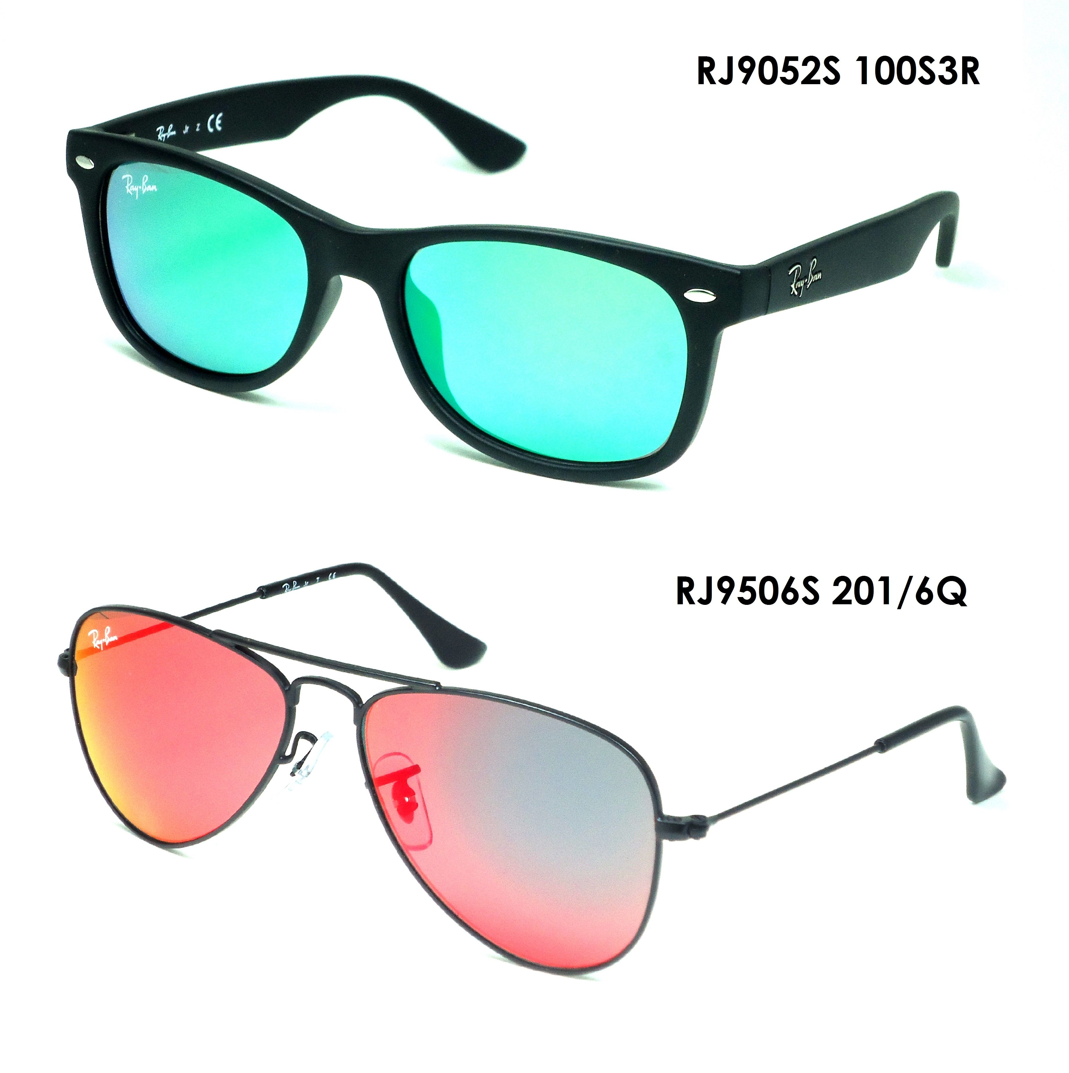 8b54c1ebfa17 Cool and refreshing new collection from Ray Ban Junior Sunglasses... What will  you choose with this two?