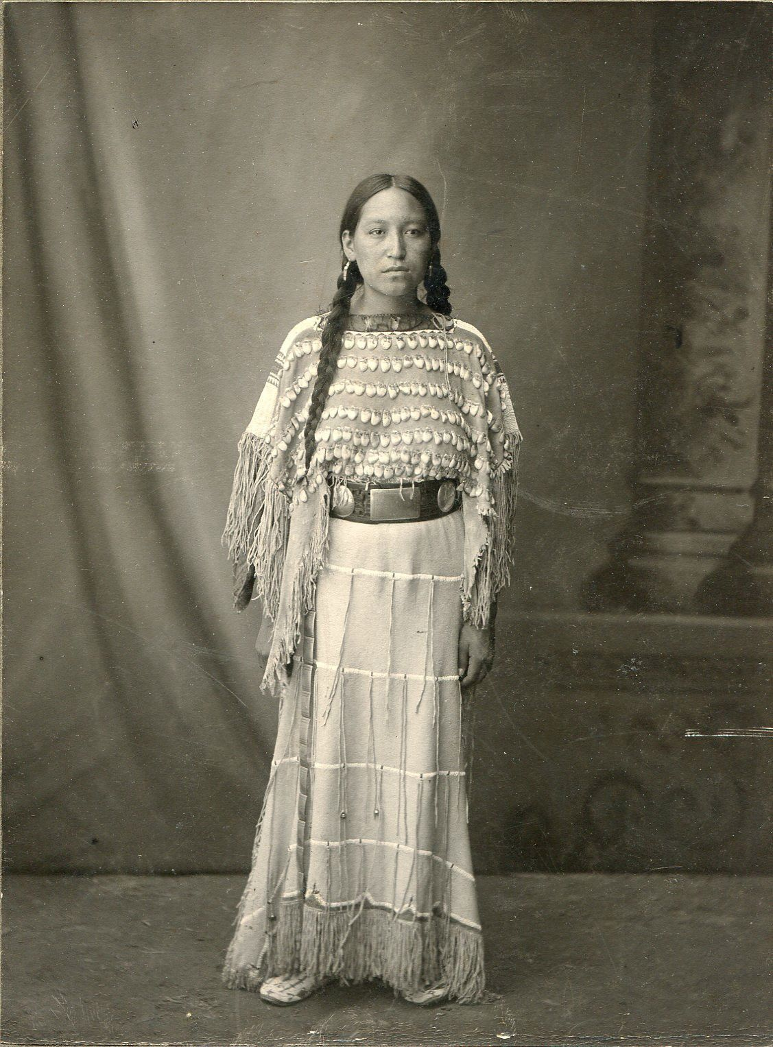 Strong Beautiful Native American Indian Woman St Louis