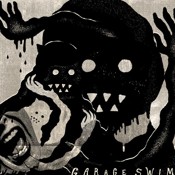 Garage Swim By Trey Wadsworth Via Behance Music Illustration Graphic Design Contrast Indie Scene Graphic Design Illustration Illustration