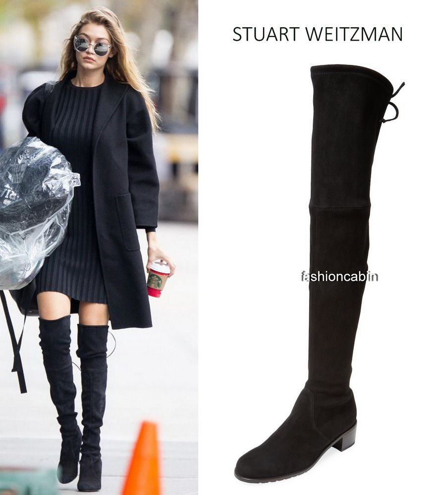 8d6e69e54ce6 NEW 🍒Stuart Weitzman 🍓MidLand🍍 Suede over-the-knee boot Shoe ...