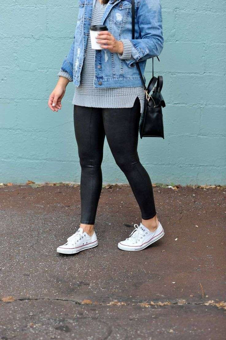The Best Travel Leggings That Are Also Stylish - My Style Vita #jeanjacketoutfits