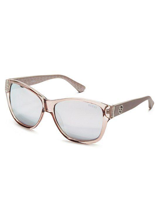 83047e2a5aad3 Roxanne Plastic Square Sunglasses