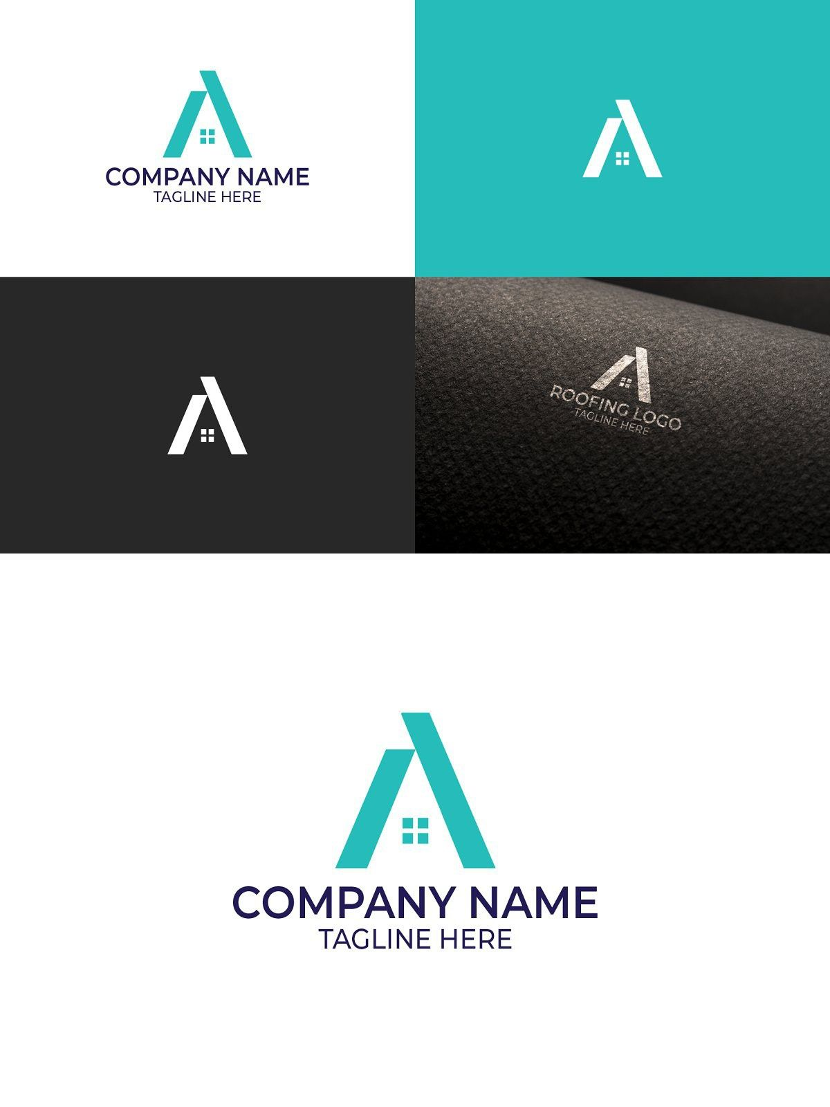 Home Logo Design In 2020 Roofing Logo Home Logo Logo Design