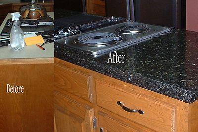 Faux Fake Vinyl Granite Counter Top