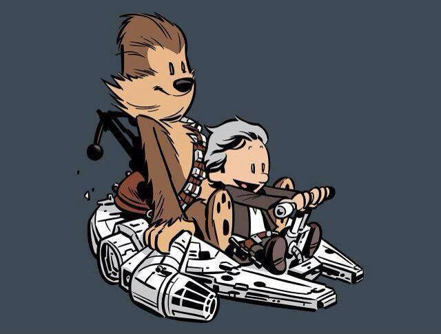 Calvin And Hobbes Star Wars Edition Star Wars Art Calvin And Hobbes Star Wars
