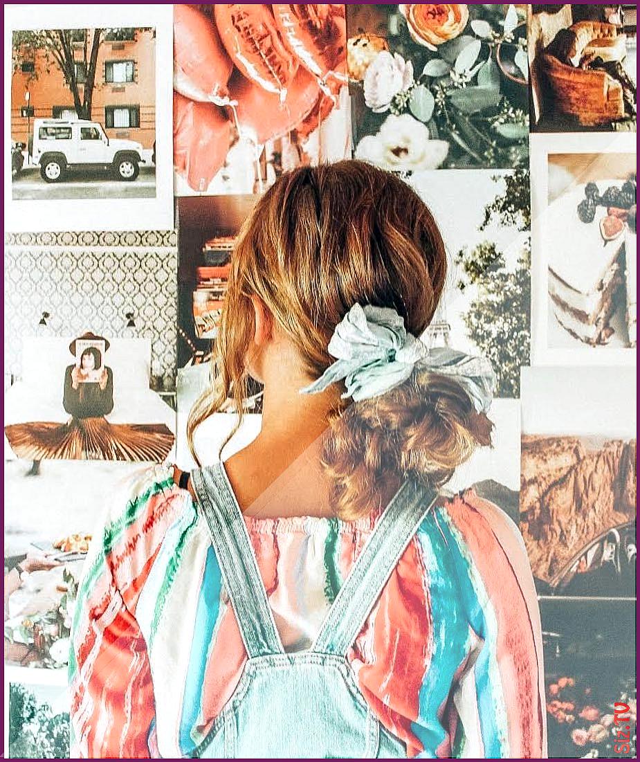 Photo of Morgan Gregory Burton on Instagram  Low messy bun nothing fancy but very practic…