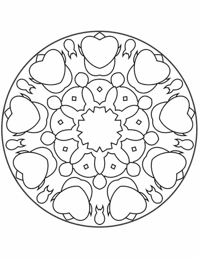 Gratis Kleurplaten Dieren Heel Makelijk Pin On Lineart Designs Mandala Signs Patterns Amp Symbols