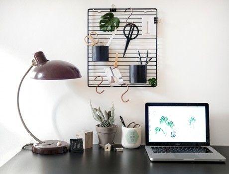 So Einfach So Gut Moderner Diy Schreibtisch Organizer Apartment