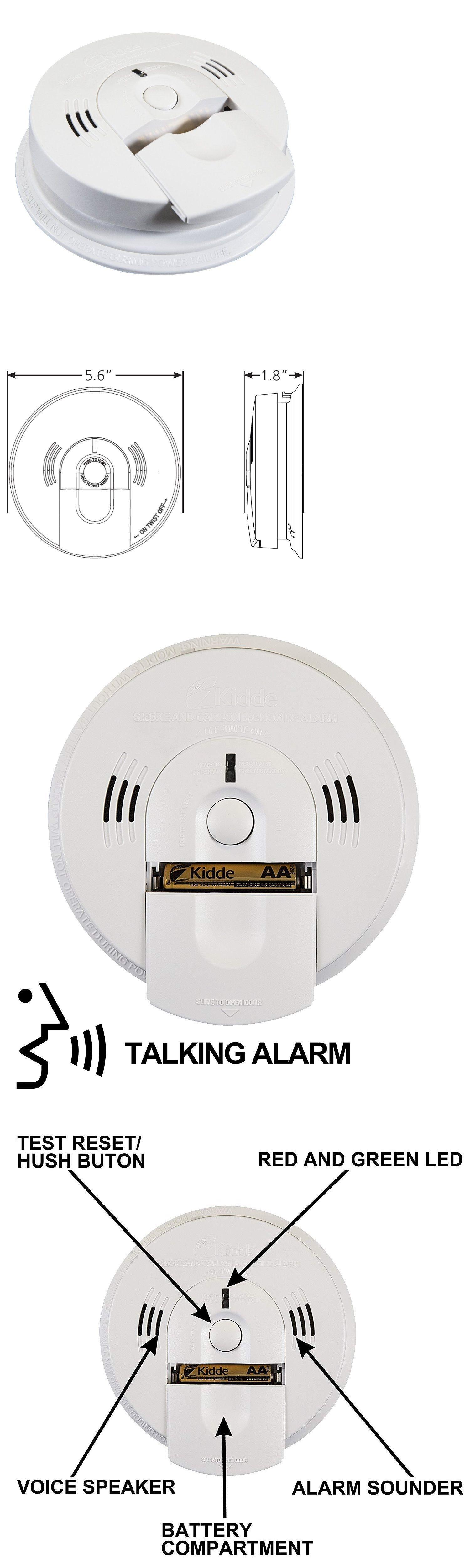 Carbon Monoxide Detectors 115943 Kidde Battery Operated