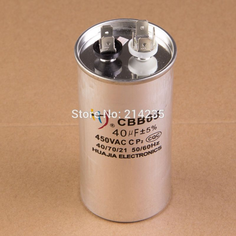 Cbb65 Airconditioning Condensator 40 Uf Home Appliances Appliance Parts Flask